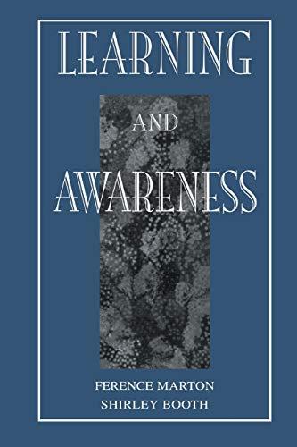9780805824551: Learning and Awareness (Educational Psychology Series)