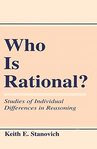 9780805824728: Who Is Rational?: Studies of individual Differences in Reasoning