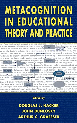 9780805824810: Metacognition in Educational Theory and Practice (Educational Psychology Series)