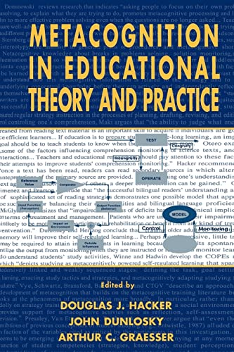 9780805824827: Metacognition in Educational Theory and Practice (Educational Psychology Series)
