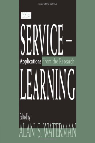 9780805825350: Service-learning: Applications From the Research
