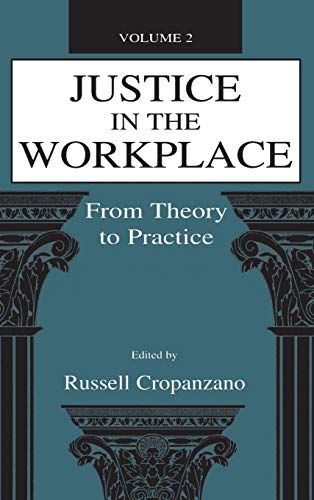 9780805826944: Justice in the Workplace: From theory To Practice, Volume 2 (Applied Psychology Series)