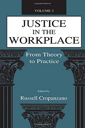 9780805826951: Justice in the Workplace: From theory To Practice, Volume 2 (Applied Psychology Series)