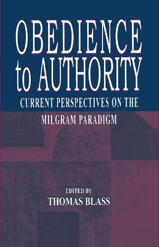 9780805827378: Obedience to Authority: Current Perspectives on the Milgram Paradigm