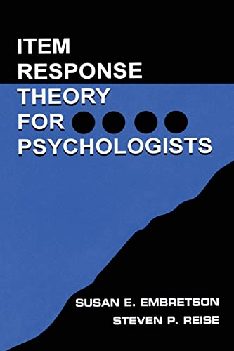 9780805828191: Item Response Theory for Psychologists (Multivariate Applications Series)