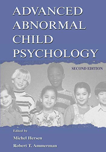 9780805828672: Advanced Abnormal Child Psychology