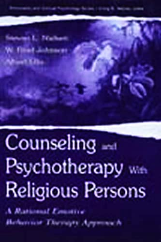 9780805828788: Counseling and Psychotherapy With Religious Persons: A Rational Emotive Behavior Therapy Approach (Personality & Clinical Psychology)
