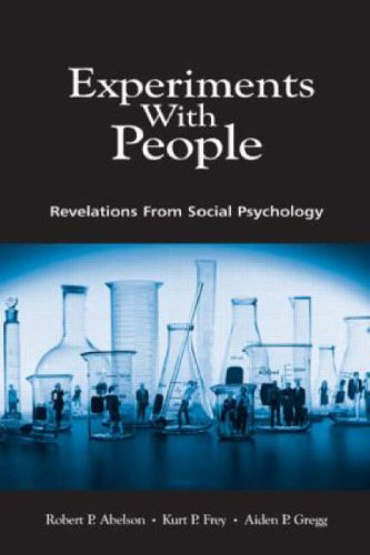 9780805828962: Experiments With People: Revelations From Social Psychology