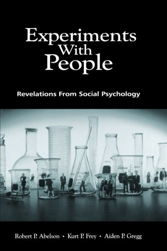 9780805828979: Experiments With People: Revelations From Social Psychology