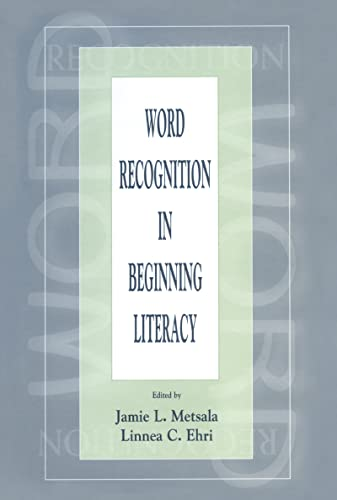 9780805828986: Word Recognition in Beginning Literacy