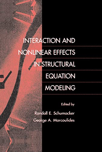 9780805829501: Interaction and Nonlinear Effects in Structural Equation Modeling