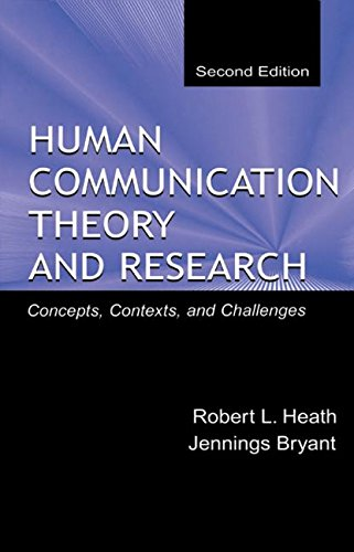 9780805830088: Human Communication Theory and Research: Concepts, Contexts, and Challenges (Routledge Communication Series)