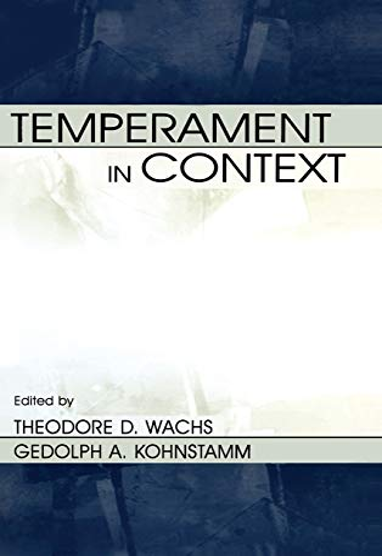 Temperament in Context
