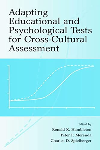 9780805830255: Adapting Educational and Psychological Tests for Cross-Cultural Assessment