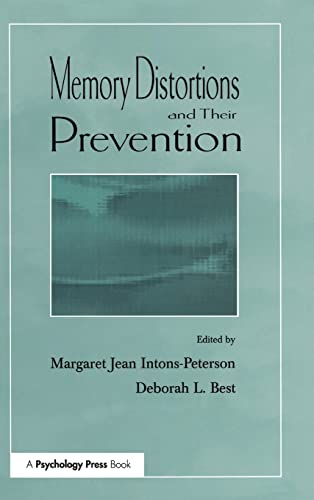 9780805830668: Memory Distortions and Their Prevention (Challenges and Controversies in Applied Cognition Series)