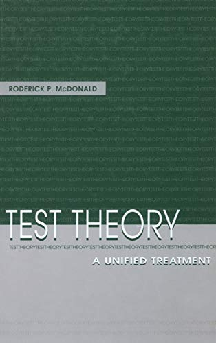 9780805830750: Test Theory: A Unified Treatment