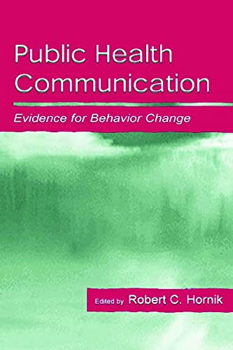 9780805831771: Public Health Communication: Evidence for Behavior Change