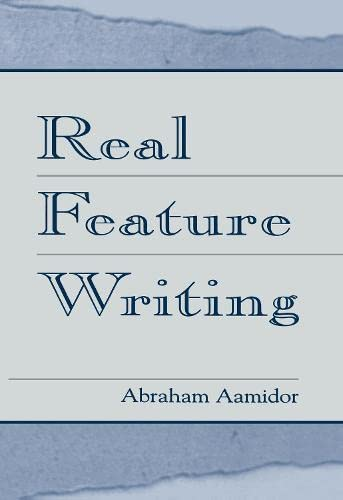9780805831795: Real Feature Writing (Routledge Communication Series)
