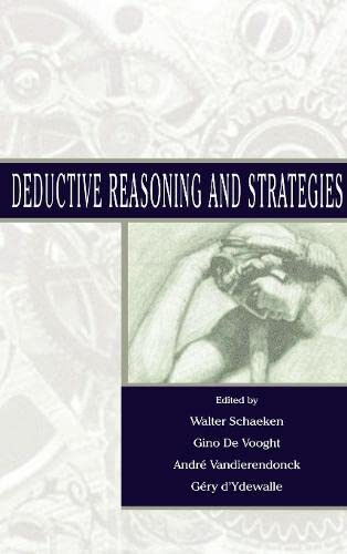 9780805832389: Deductive Reasoning and Strategies