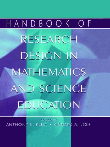 9780805832815: Handbook of Research Design in Mathematics and Science Education