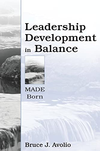 9780805832846: Leadership Development in Balance