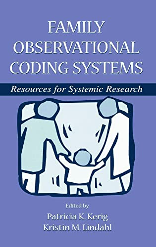 9780805833232: Family Observational Coding System: Resources for Systemic Research