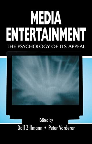 9780805833249: Media Entertainment: The Psychology of Its Appeal (Routledge Communication Series)