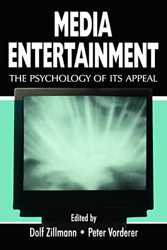 9780805833256: Media Entertainment: The Psychology of Its Appeal (Routledge Communication Series)