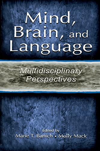 9780805833287: Mind, Brain, and Language: Multidisciplinary Perspectives