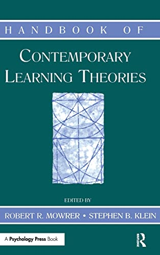 9780805833348: Handbook of Contemporary Learning Theories