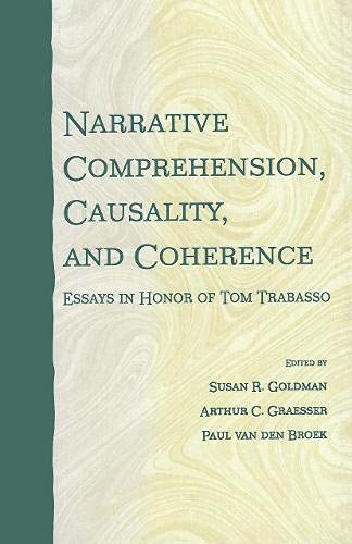 9780805833584: Narrative Comprehension, Causality, and Coherence: Essays in Honor of Tom Trabasso