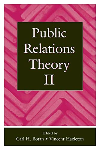 9780805833843: Public Relations Theory II (Routledge Communication Series)
