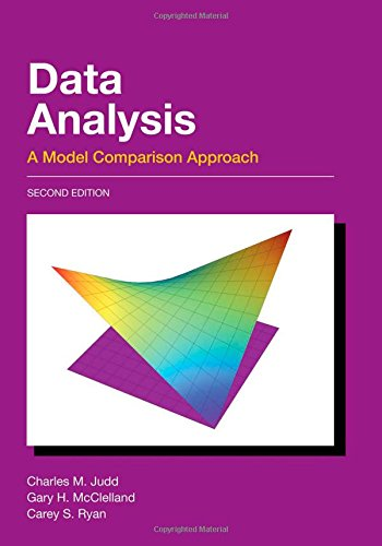 9780805833881: Data Analysis: A Model Comparison Approach, Second Edition