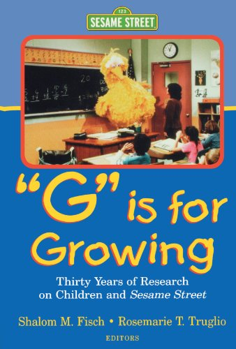 9780805833959: G Is for Growing: Thirty Years of Research on Children and Sesame Street (Lea's Communications Series) (Routledge Communication Series)