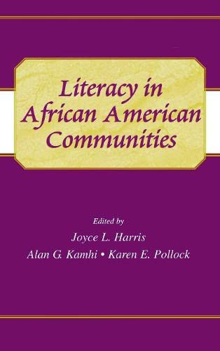 9780805834017: Literacy in African American Communities