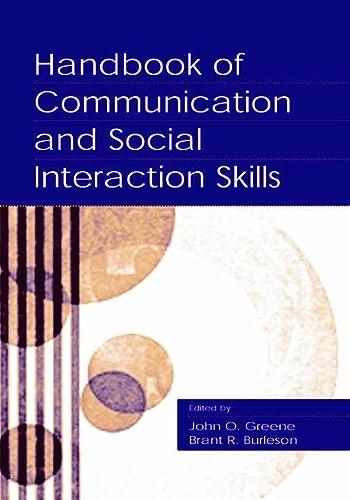 9780805834185: Handbook of Communication and Social Interaction Skills