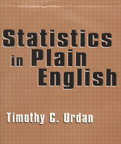 9780805834420: Statistics in Plain English (Volume 1)