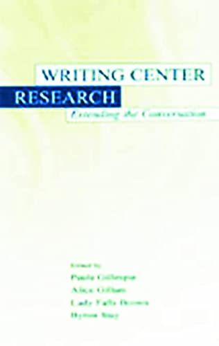 9780805834475: Writing Center Research