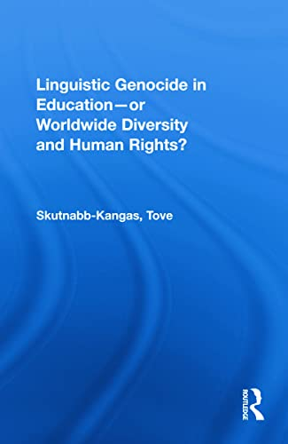 9780805834680: Linguistic Genocide in Education--or Worldwide Diversity and Human Rights?