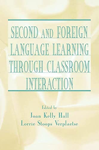 9780805835137: Second and Foreign Language Learning Through Classroom Interaction