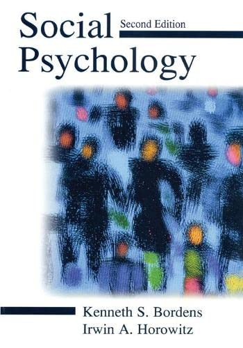 9780805835205: Social Psychology
