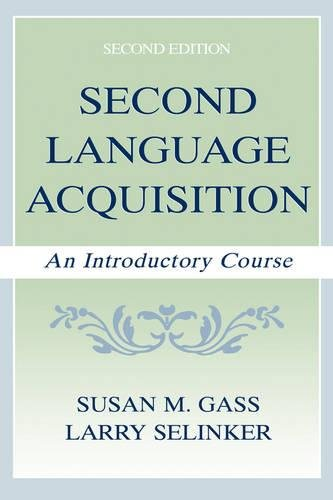 9780805835274: Second Language Acquisition: An Introductory Course