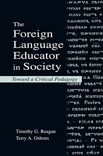 9780805835922: The Foreign Language Educator in Society