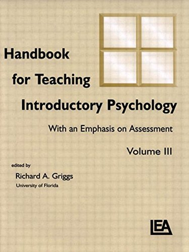 Handbook for Teaching Introductory Psychology: Volume Ii