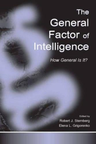 9780805836752: The General Factor of Intelligence: How General Is It?