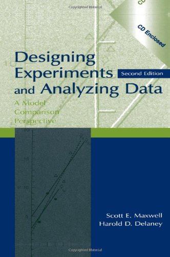 9780805837186: Designing Experiments and Analyzing Data: A Model Comparison Perspective, Second Edition