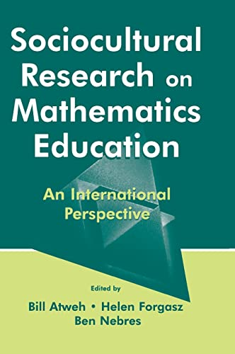9780805837254: Sociocultural Research on Mathematics Education: An International Perspective