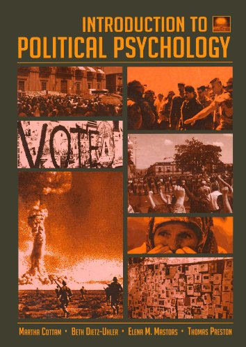 9780805837704: Introduction to Political Psychology