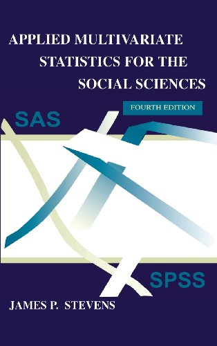 9780805837766: Applied Multivariate Statistics for the Social Sciences, Fourth Edition (Applied Multivariate STATS)