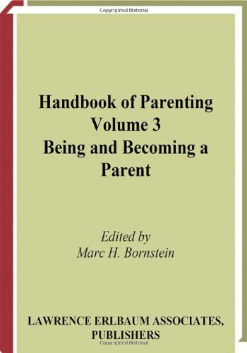 9780805837803: Handbook of Parenting: Volume 3: Being and Becoming a Parent, Second Edition